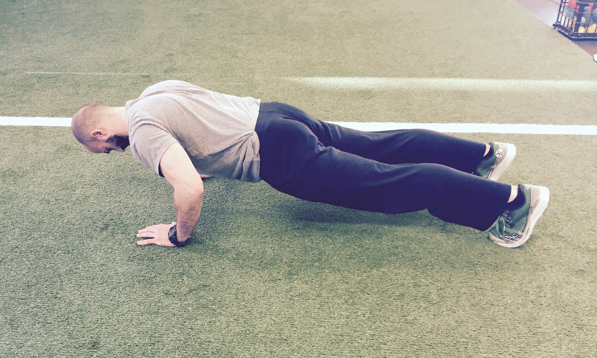 How to fix common press-up mistakes