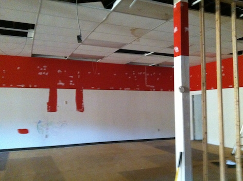 Renovating Space for Conca Sport & Fitness' second facility