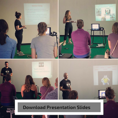 Click links below to download each presentation