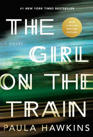 The cover of Paula Hawkins' novel The Girl on the Train.