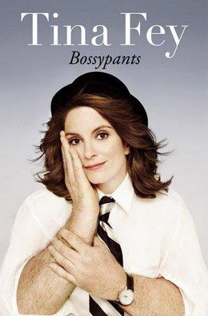 The cover of Tina Fey's memoir Bossypants.