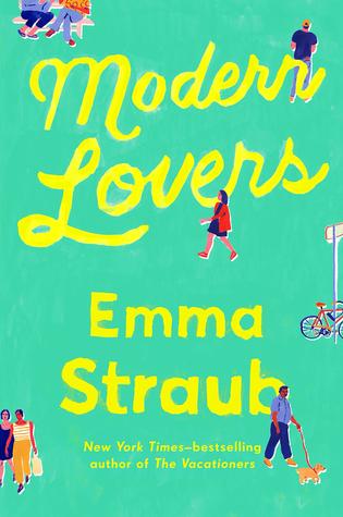 The cover of Emma Straub's novel Modern Lovers.