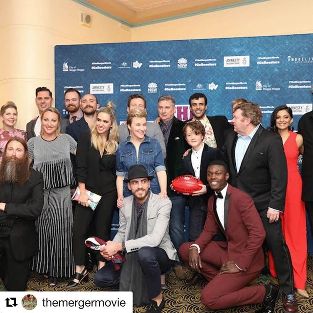 #Repost @themergermovie with @get_repost ・・・ A huge night at the Sydney Premiere of The Merger last night as Cast & Crew, Family & Friends joined with moviegoers and the #mynewneighbour team from #amnestyinternational at Randwick Ritz to celebrate how this feel-good Aussie flick is being embraced by audiences across the Country - and making us all more aware of what we can do to help our Refugees in Australia.