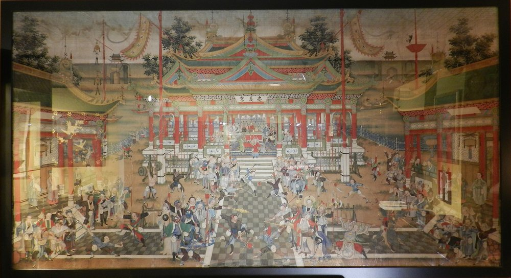 水浒中国画