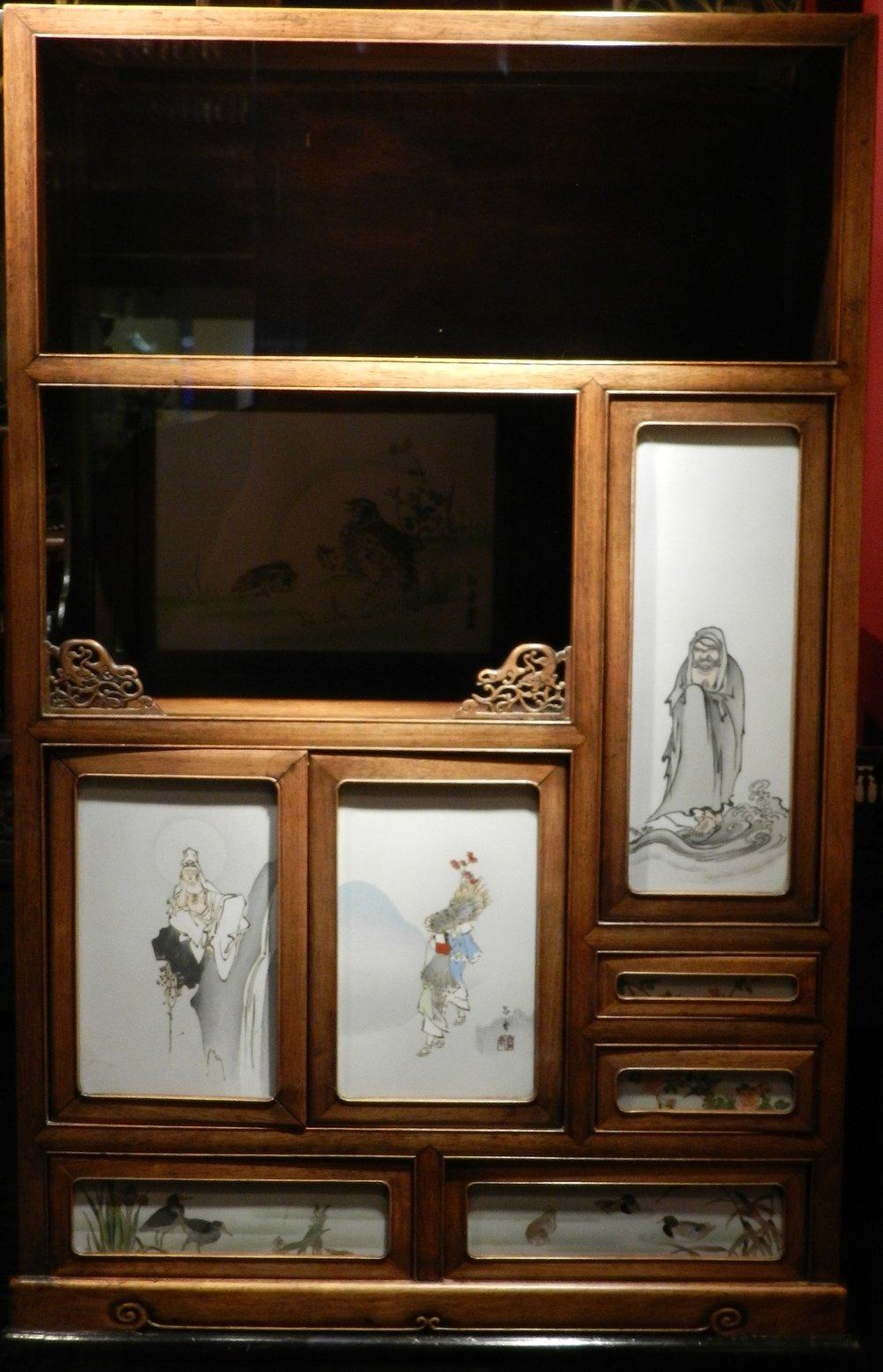 Japanese Hardwood Cabinet