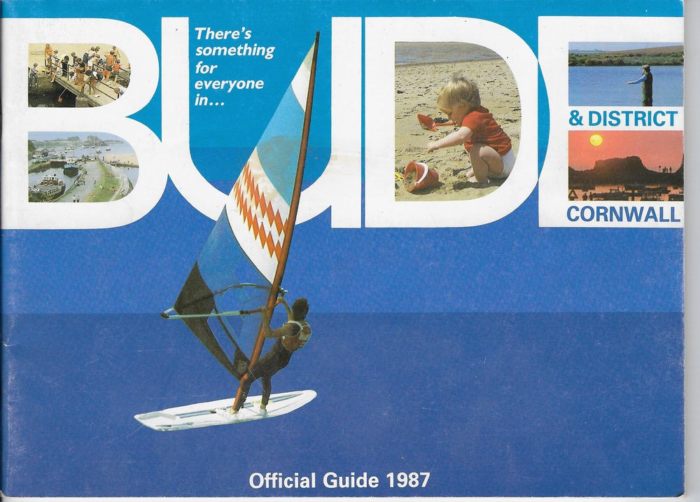 1987 Visit Bude Guide