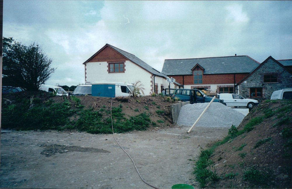 wagoners, Olde Coach House and the Stable Barn nearing completion