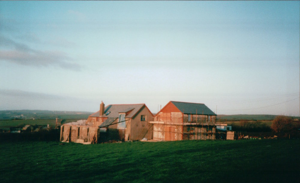 Olde Coach House and Wagoners during the conversion into family accommodation