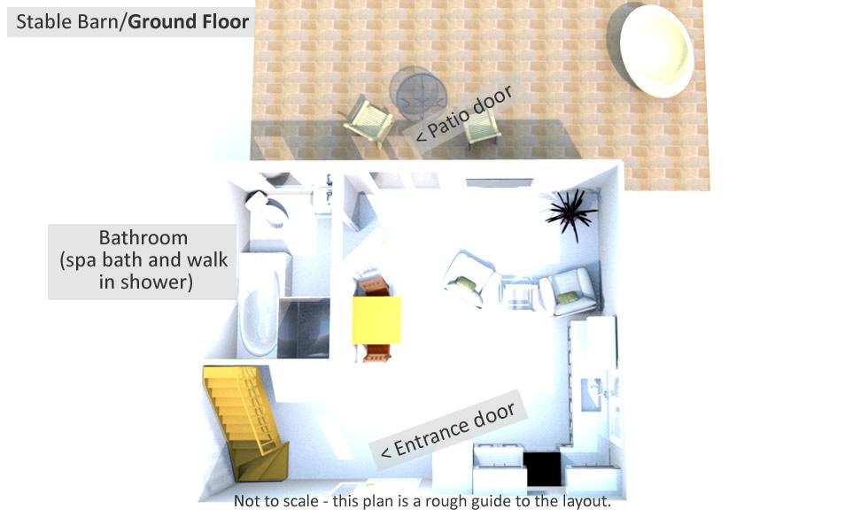 Stable Barn - Ground Floor Plan