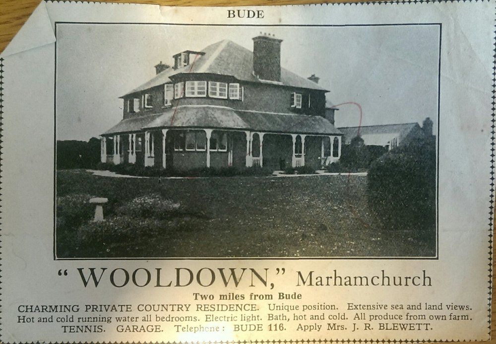 Old advertisement for Wooldown