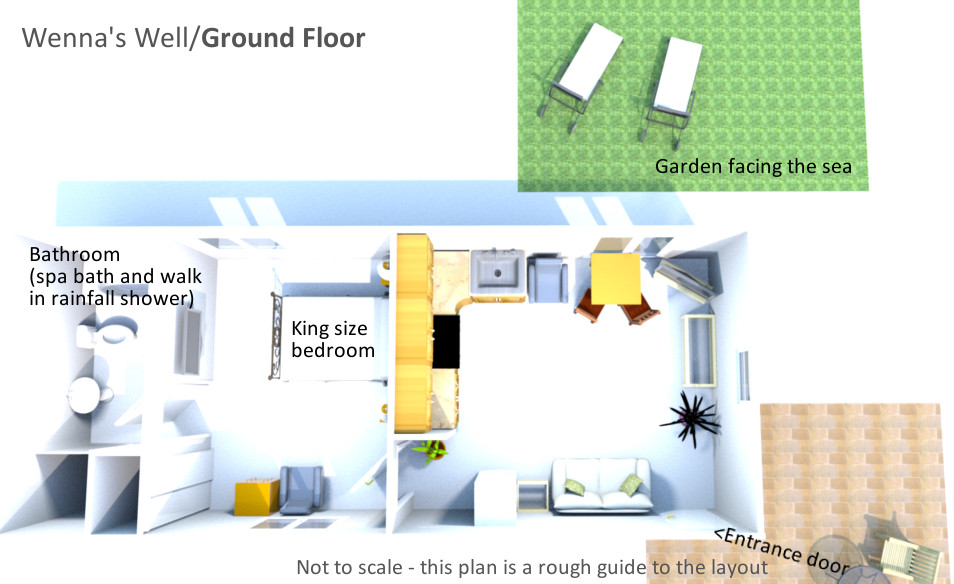 Wenna's Well - Ground Floor Plan