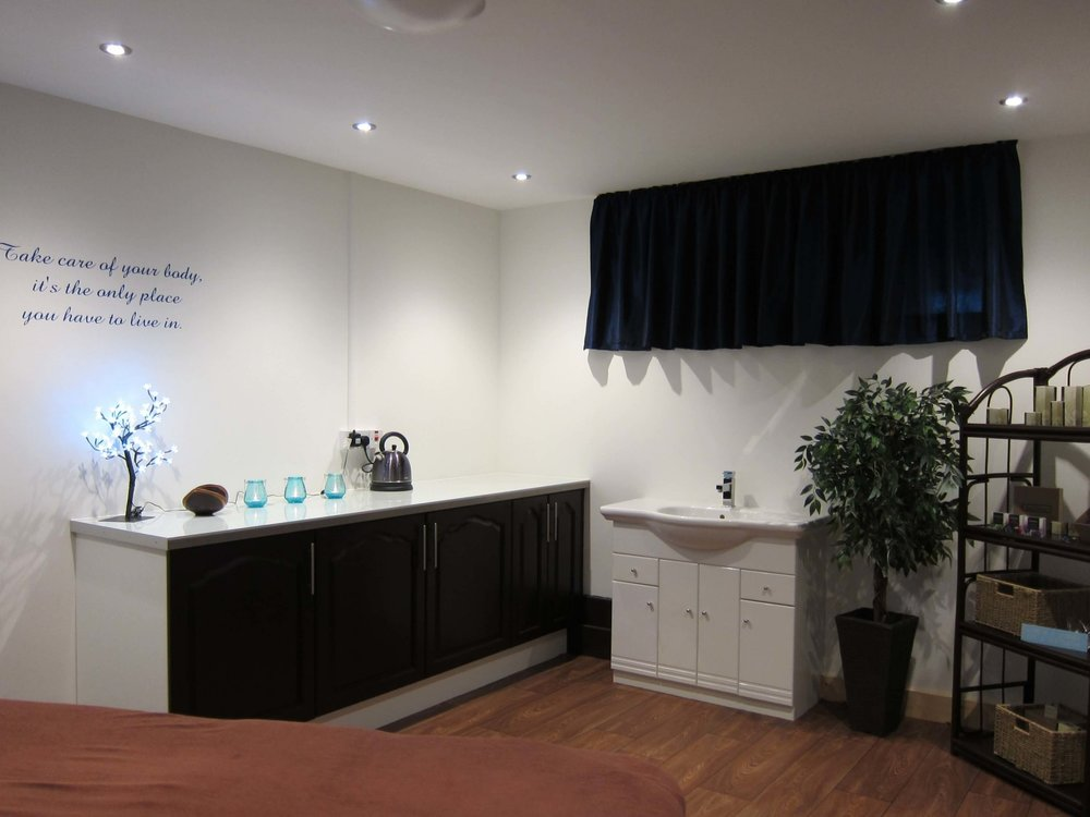 Wooldown On-Site Pamper Room