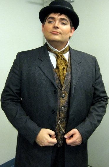 Dressed one of my parts in Opera San Jose's staging of Carmen (2009)