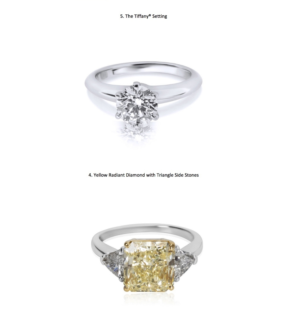 What Are The Engagement Rings Of 2018 Wp Diamond S Predict Get