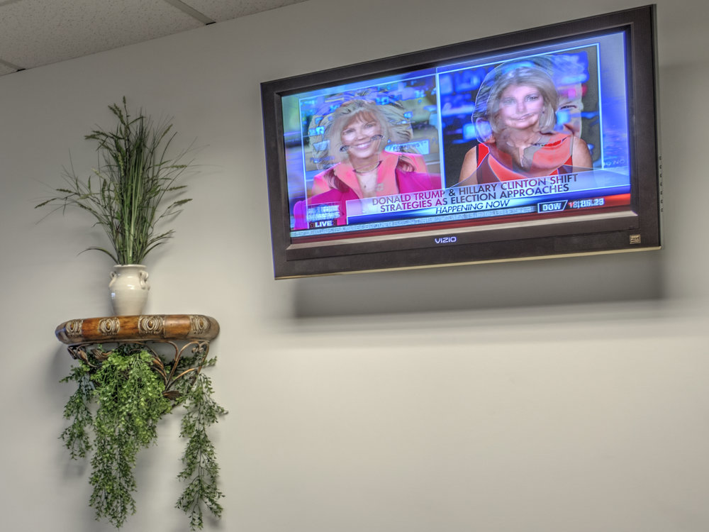 WAITING ROOM TELEVISION