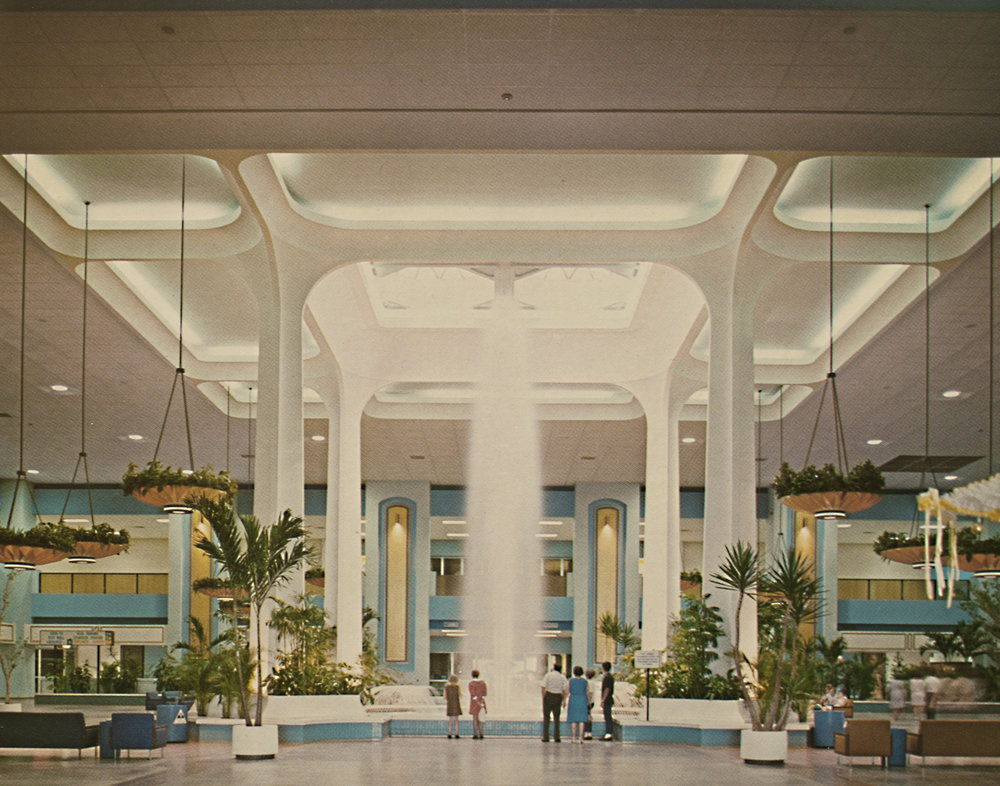 CINDERELLA CITY MALL, CIRCA 1968