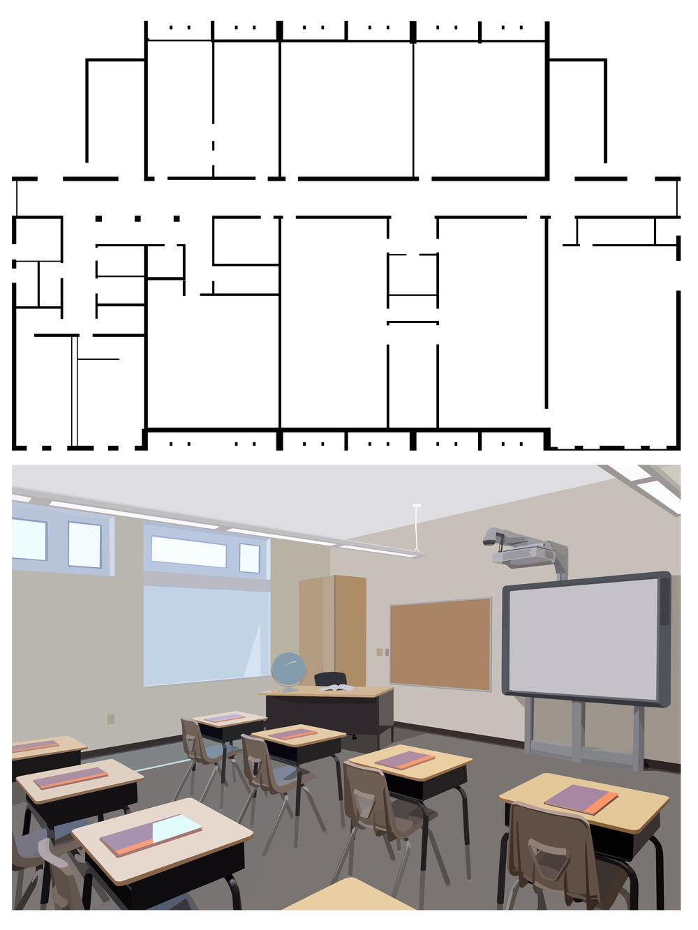 MIDDLE SCHOOL CLASSROOM