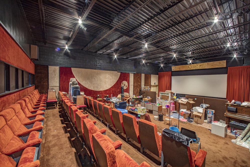 Rosenblum Residence, Screening room.
