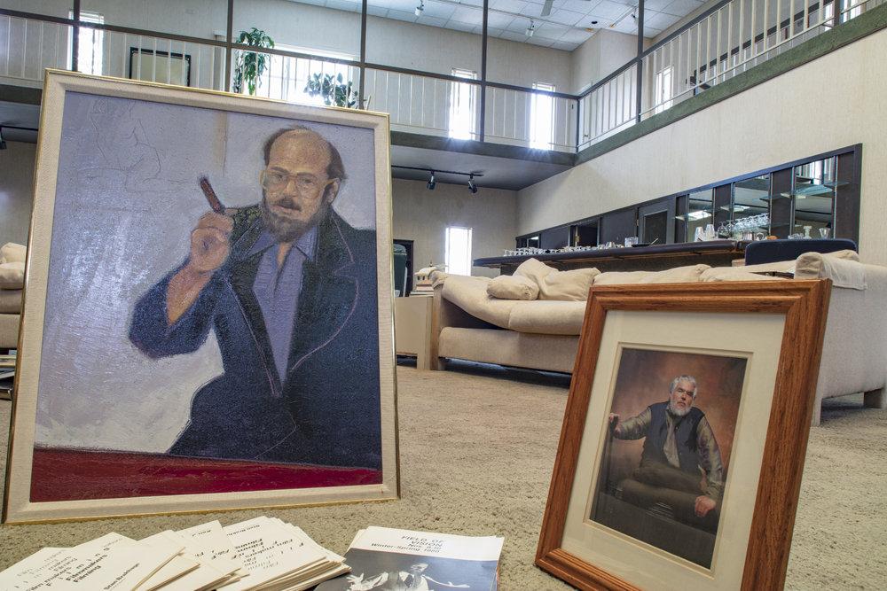 Portraits of Collector, Gordon Rosenblum and artist Stan Brakhage