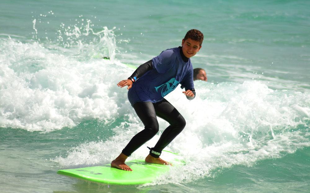 Cursos surf fuertevnetura