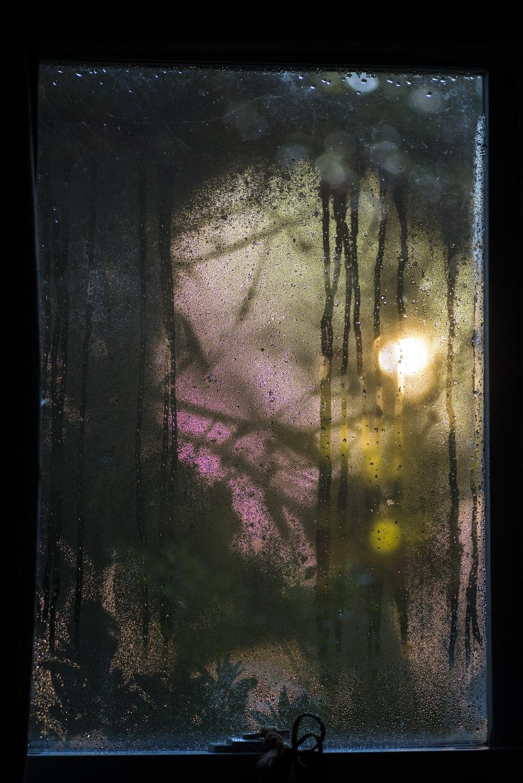 Frost window art, Redding