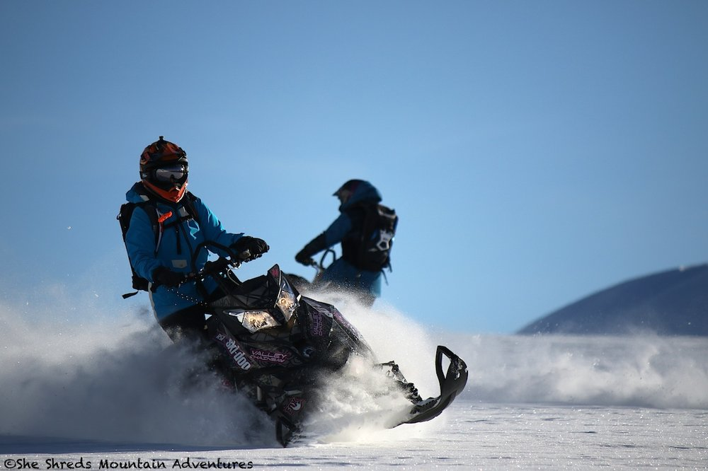 Picture taken of Nicole & Rod on their She Shreds adventure on Jan 15.