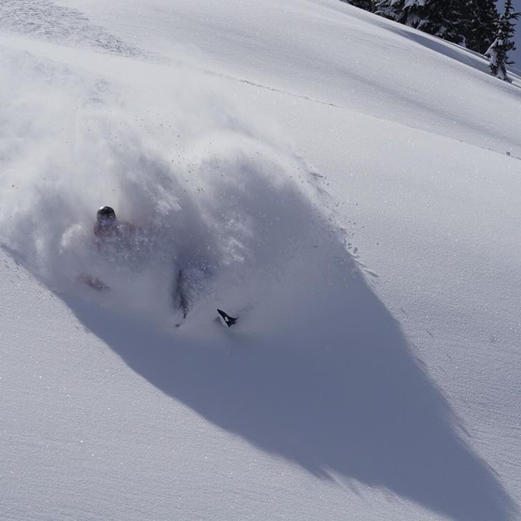 Photo by Danny Jendral taken on Sunday March 5 in the whistler backcountry