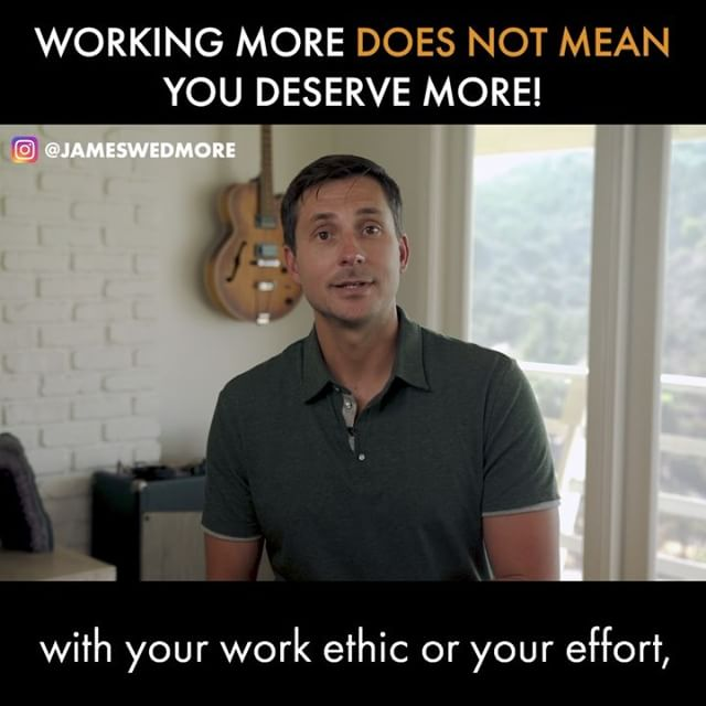 Working More Does *NOT* Mean You are Deserving of More! HARSH but true! 💥 You don't magically get handed the results and the success you want in your business, simply because you worked hard and sacrificed. (Sorry!) 💥 And that's because success for an entrepreneur has absolutely NOTHING to do with your work ethic or your effort, despite what anyone might tell ya. 💥 How many struggling entrepreneurs have you seen that rely on their hustle and work ethic, who are in front of their laptops for 12-14 hours a day, yet they have absolutely nothing to show for it? 💥 In reality: Most entrepreneurs struggle NOT because they aren't willing to WORK HARDER and WORK LONGER, but because they aren't willing to get to work on the HARD THINGS. 💥 The question is, ARE YOU?