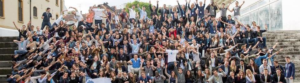 Sciences Po Strasbourg Consulting en compagnie des autres Junior-Entreprises de la région Est.