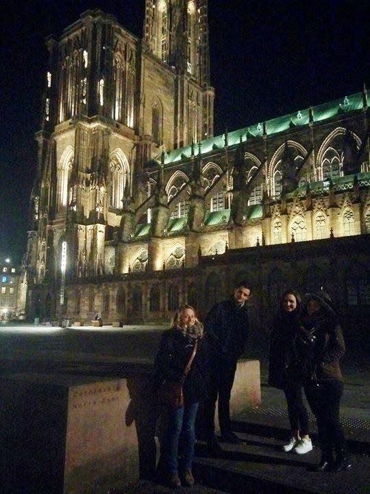 Accueil de nos auditeurs à Strasbourg