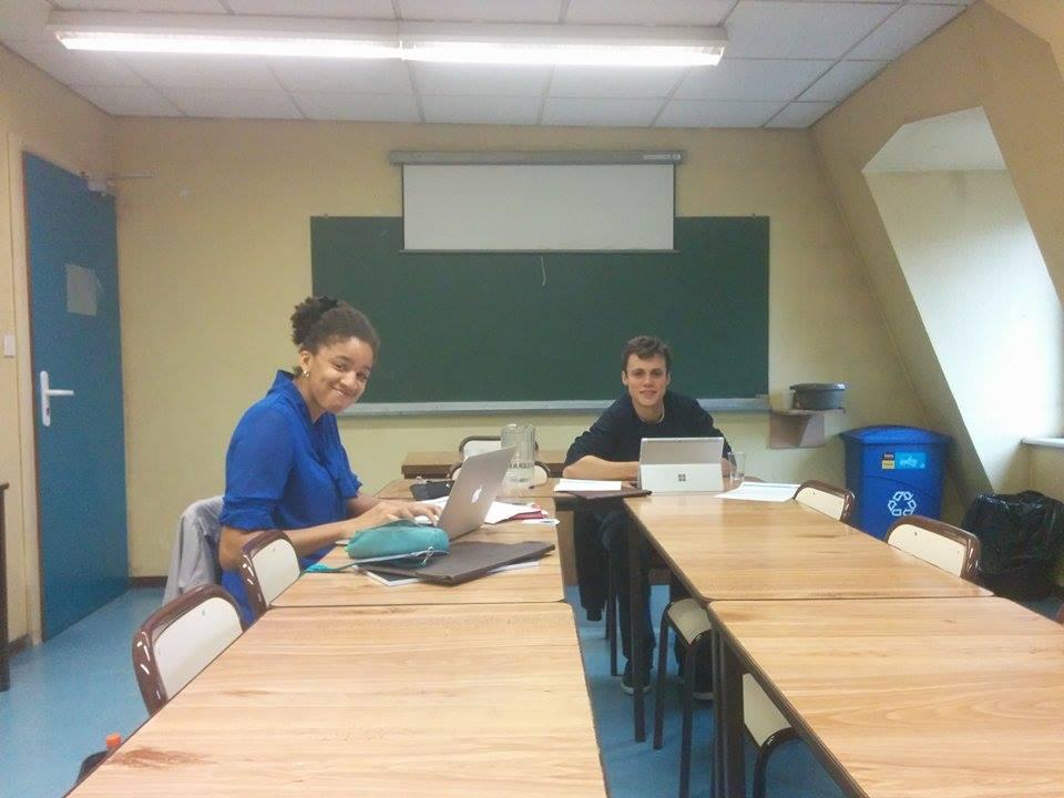 Noémie et Raphaël, deux responsables commerciaux de SPSC.