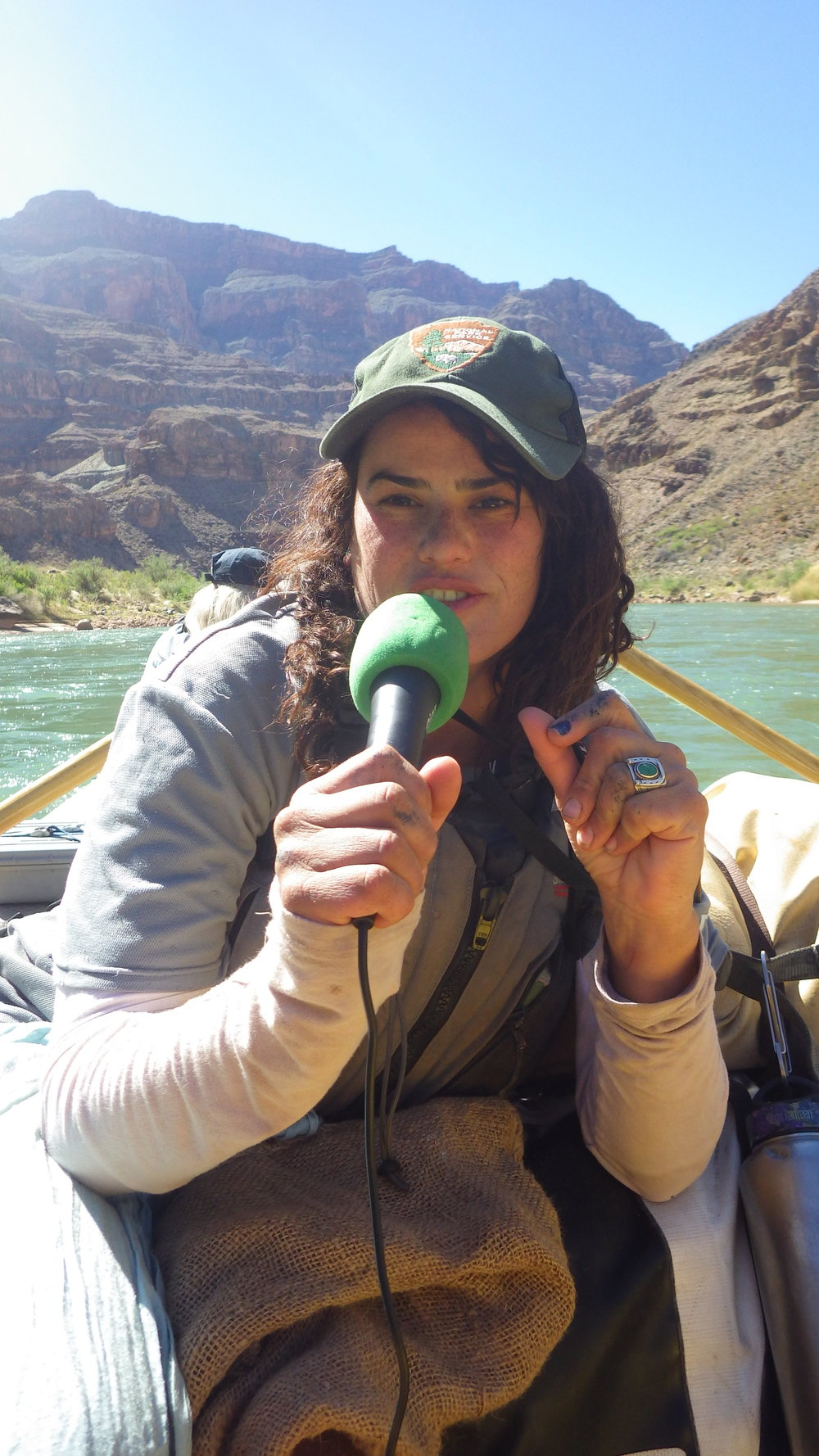 "Recorded in the ""Science Boat"" floating on the Colorado River in the Grand Canyon. Featuring Cynthia Valle, the only hydrologist for GC Nat. Park who studies the springs inside the park."