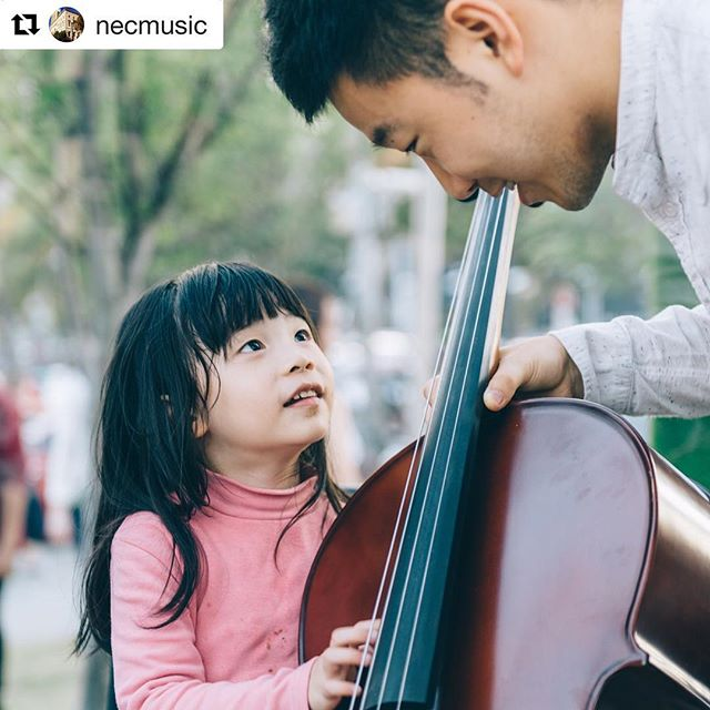 #Repost @necmusic ・・・ | Rayna Takeover | Holding an instrument is part of musicians' everyday life, but the harder we work, the easier it becomes to forget - while it quietly rests in our hands, we forgot it has hundred years of untold stories, forgot every inch of it hides a secret, forgot what we were like before music, forgot how old we picked up our first instruments, forgot when we got used to holding our instruments, forgot when we no longer care about those calluses on our fingers, forgot when was the last day of no practice. But no matter how forgetful we are, we will always remember that when we played that very first note in our lives, it was simple yet we were lost for words. And from that moment on, that first note brought more indescribable moments into our lives.  Everything, began with the moment we held an instrument.  _ Stay tuned for more 🎻 and come to the presentation at 6pm, NEC St. Botolph room 300.