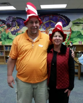Mr. Huff and Mrs. Turner prepared to read.