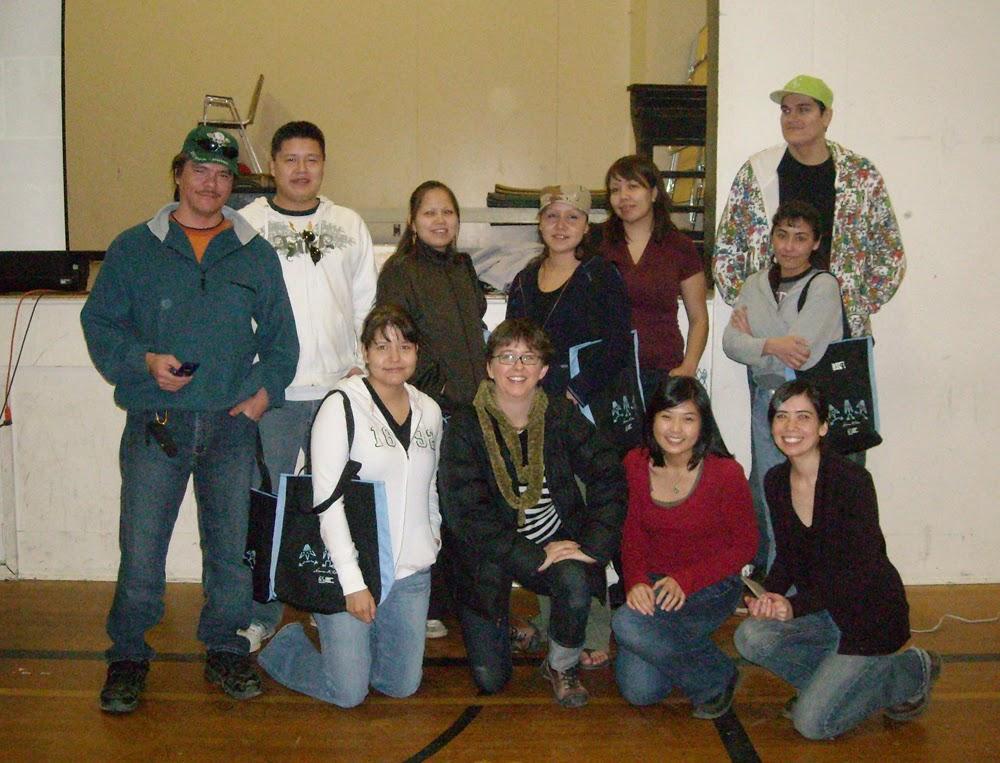TOP: Marvin, Cody, Sherylanne, Jeannette, Michelle, Sharon & Steve  BOTTOM: Kirsten, Lisa, Elisa & Catrina