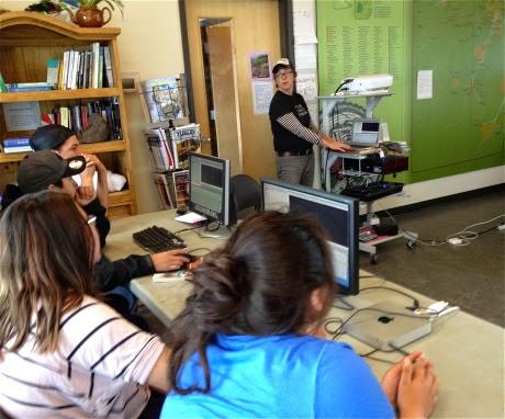 Lisa g teaches the editing program final cut 7