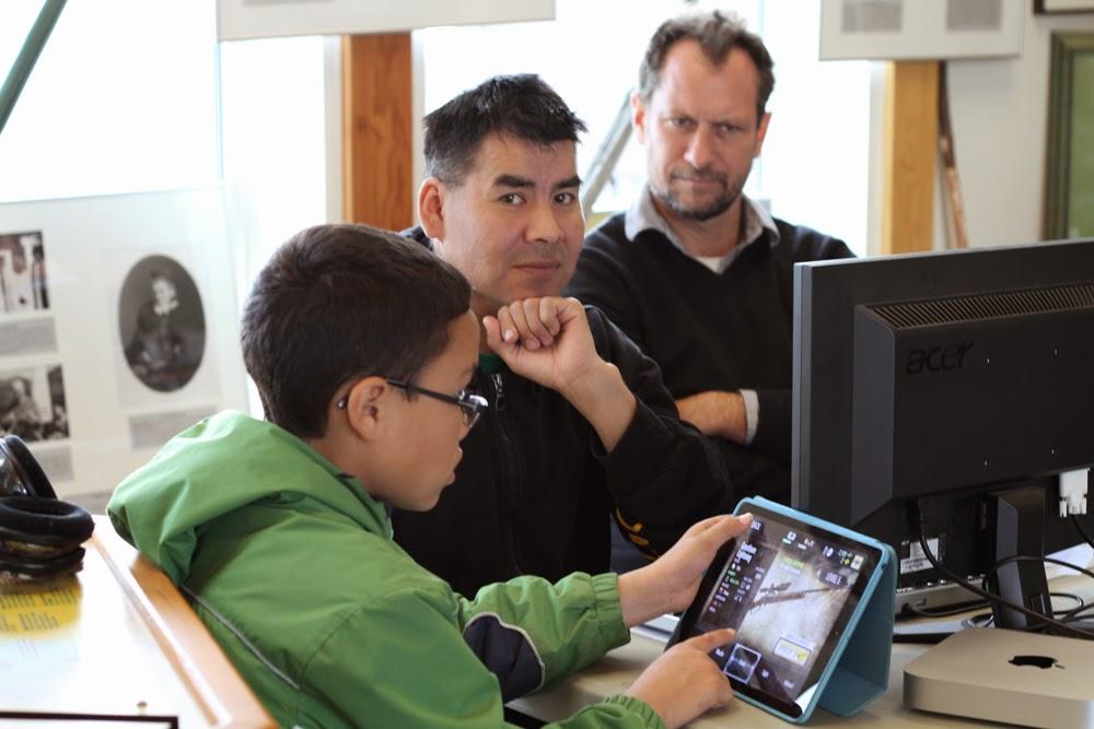 Edward has a new editor mentor: Aidan (and minecraft)