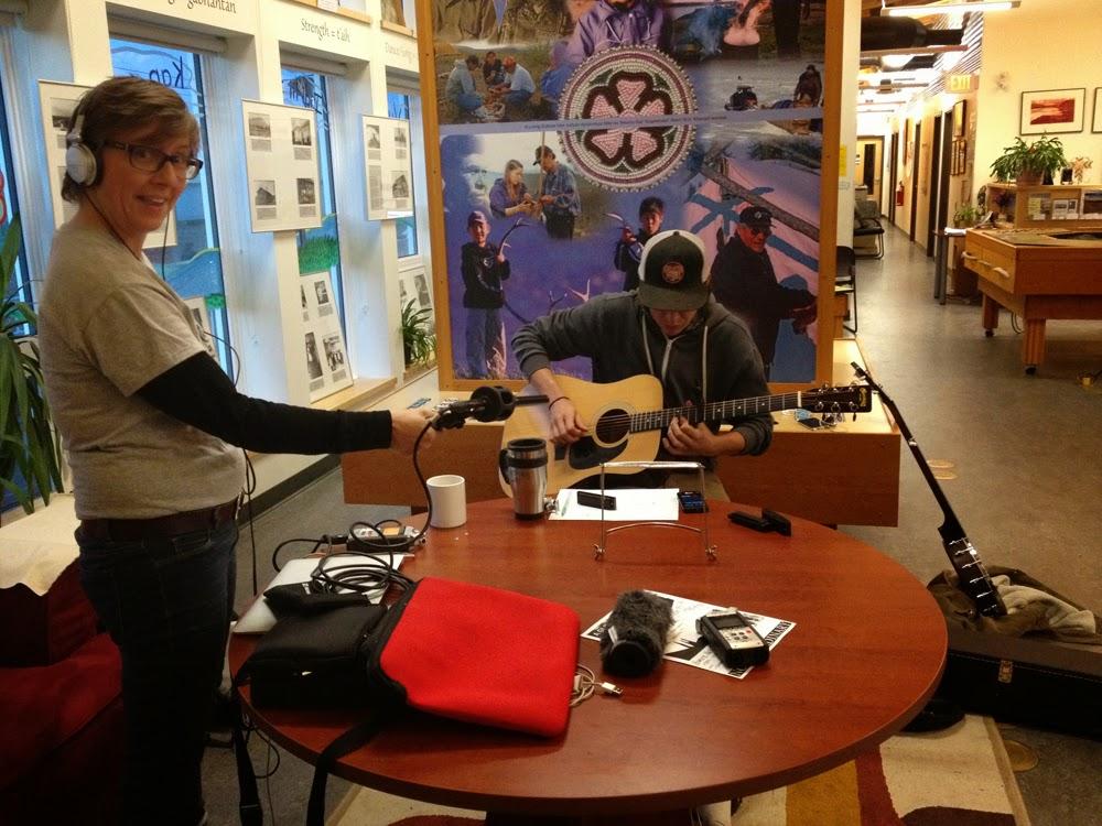Lisa g as sound technician