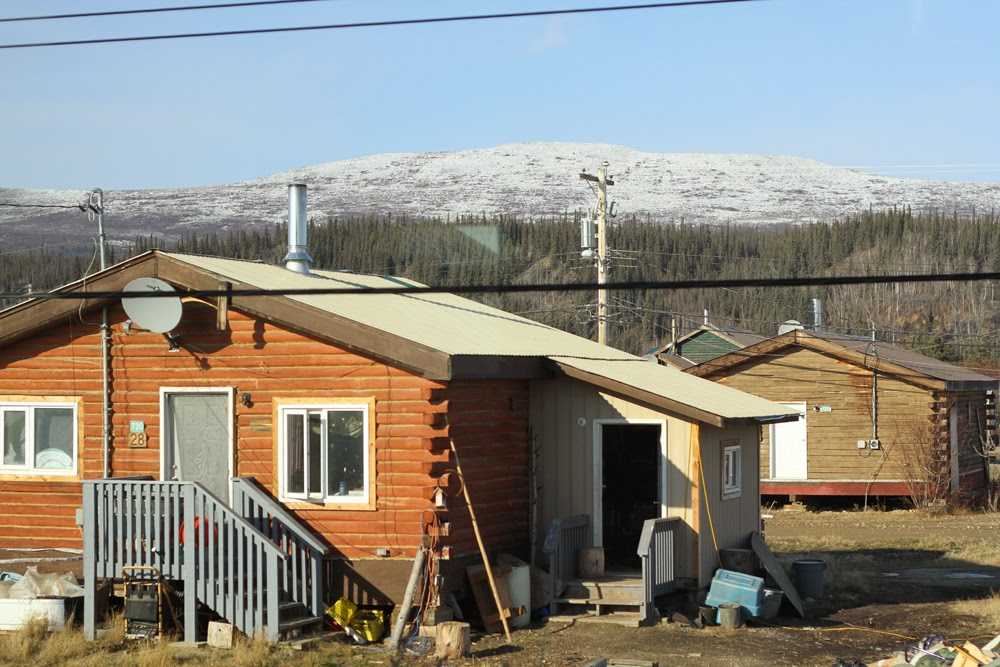 Crow Mountain has a dusting of snow