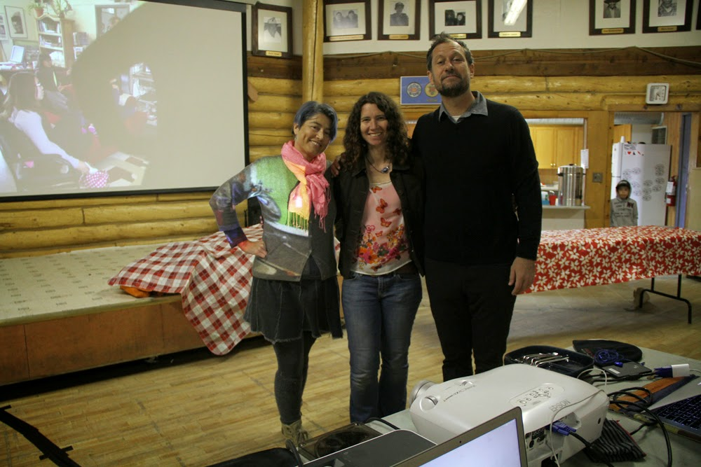 Thanks for everything Megan! (with Lisa M and Paolo)