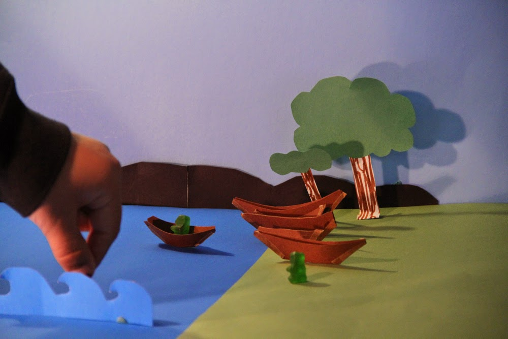 Animating Gummy Bears saving our waters!