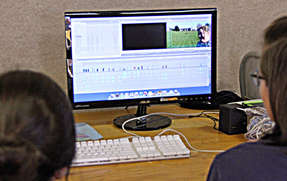 Body Image video has 15 PLUS interviews! That is a lot of editing!