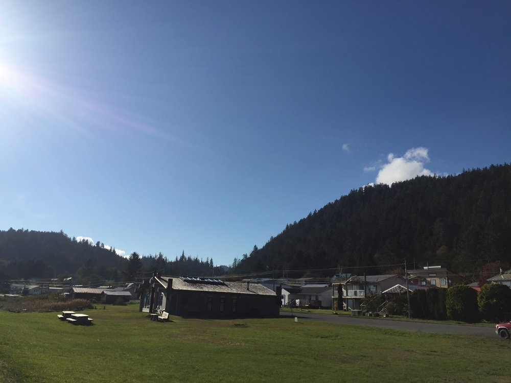 Haida Heritage site. Home of The Skidegate Haida Immersion Program (SHIP)