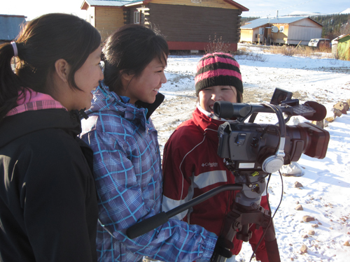 Brandie is out on location WITH her bestfriends for her film ABOUT her best friends: Melayna & Shaylene