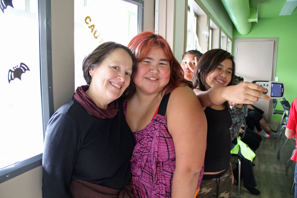 Tracy, Natalia, Latoya and Charma!