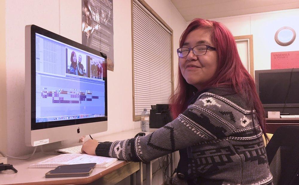 Roberta edits up a STORM!