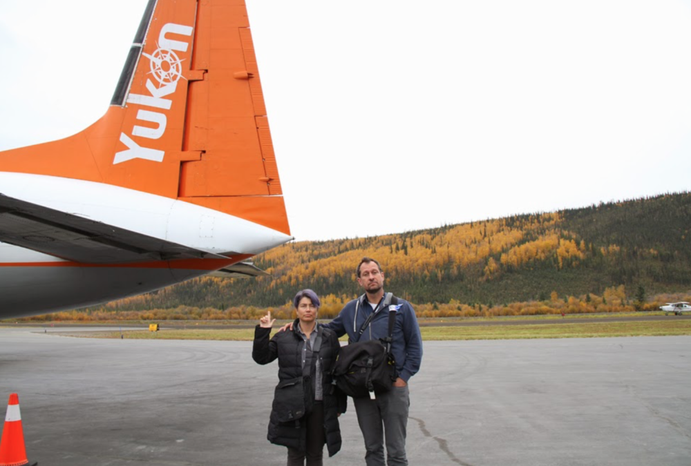Welcome to the Yukon Lisa and Paolo! Arrival to Whitehorse!
