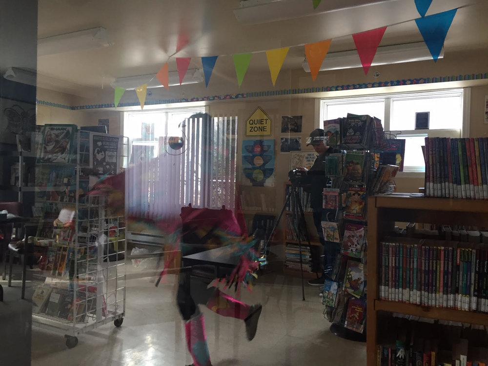 Joy dances for her video