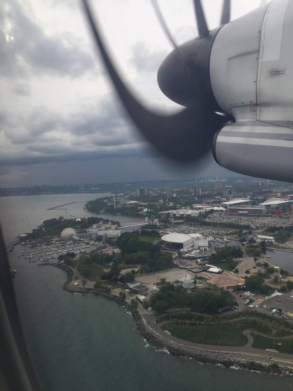 Goodbye Toronto…