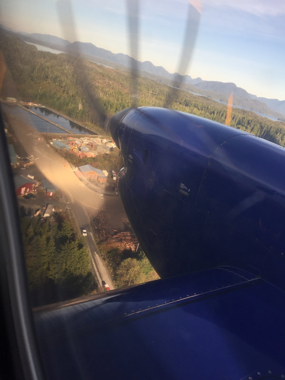 Landing in Bella Bella!